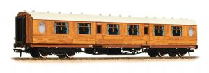Graham Farish 376-200 LNER Thompson 1st Class Corridor, Teak Livery